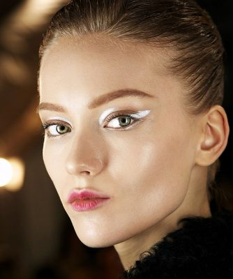 make up feestdagen beauty look