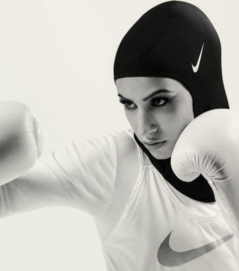 Nike lanceert de allereerste hoofddoek voor atleten