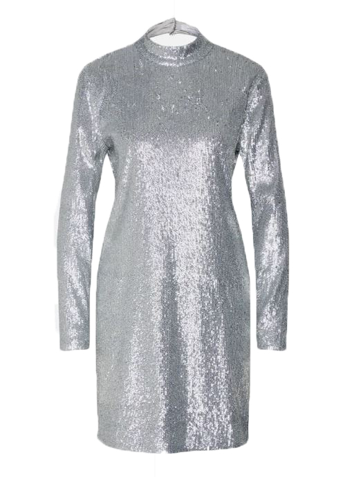 samsoe samsoe jurk zilver