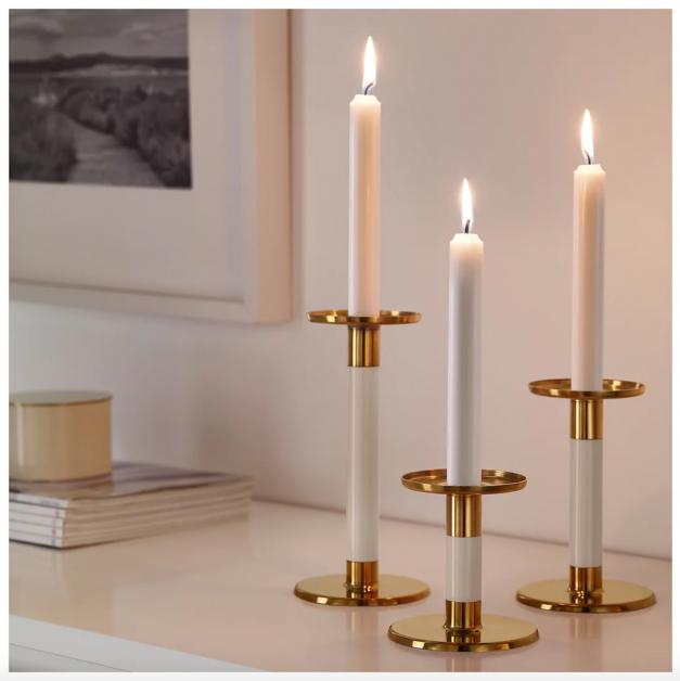 kaarsen cadeau ikea goedkoop