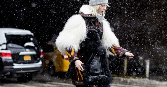 New York Street Style: 50 sneeuw proof outfits