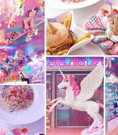 Wij willen nu naar het Unicorn Café!