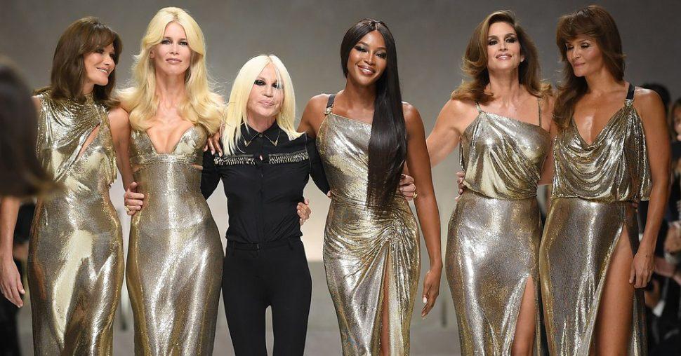Versace's nieuwste campagne barst van de supermodellen!