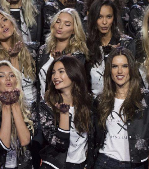 Deze Victoria's Secret Angel liep dit jaar zwanger op de VS-catwalk!