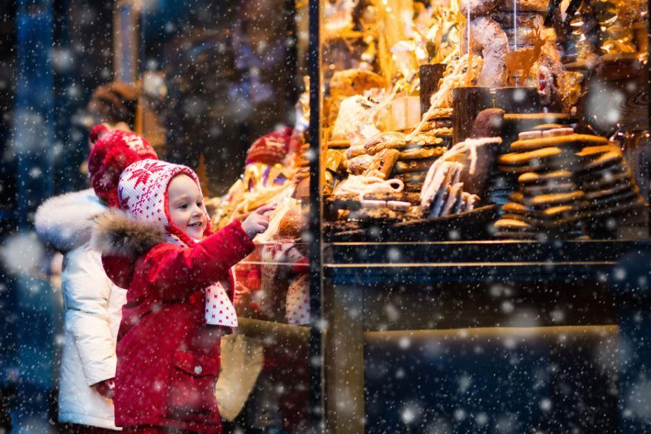 winter, gezellig, kerstmarkt, fashion, vakantie