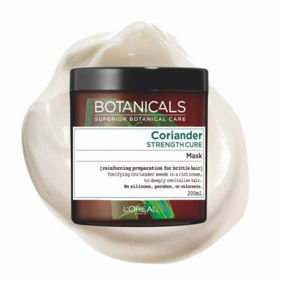 Best Care Product: Botanicals Coriander Strength Cure Mask L'OREAL PARIS