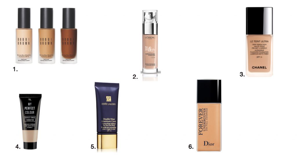 beautytrends 2018 make-up foundation