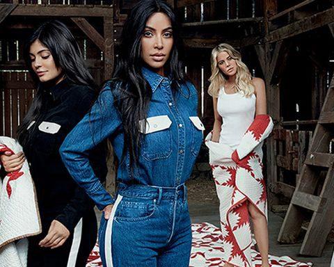 Raf Simons verenigt alle Kardashian-zussen voor Calvin Klein-campagne