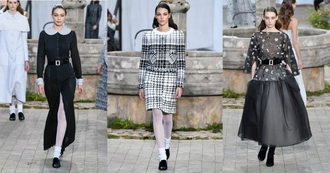 Chanel 2020 lente haute couture fashion week