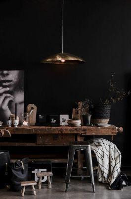 deco, decoratie, trend, 2018, donker, muren, verf, schilderen, interieur, kamer