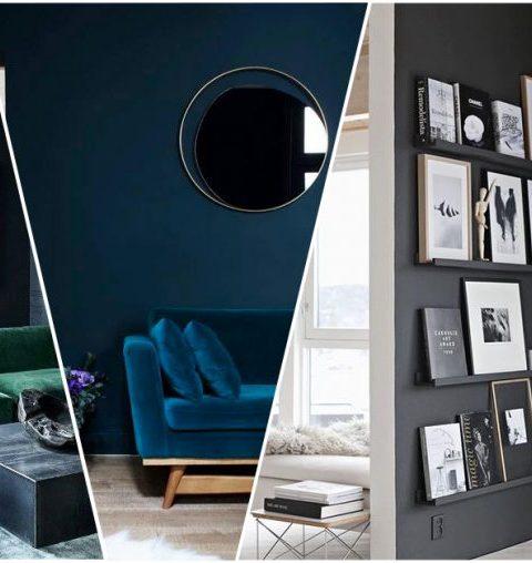 25 redenen om te kiezen voor donkere muren in je interieur!