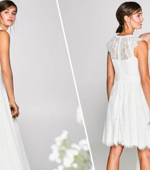 esprit betaalbare bruidsmode trouwjurk budget