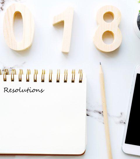 6 goede beautyvoornemens voor 2018