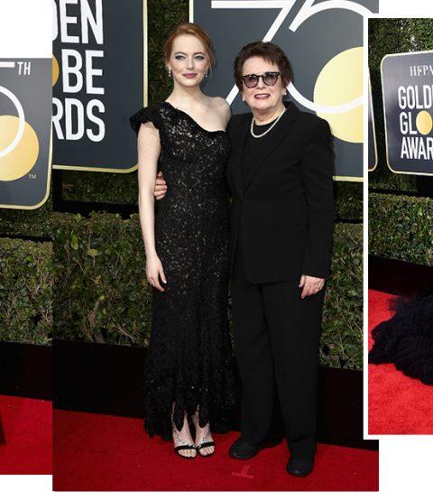 Must see: De radicale rode loperoutfits op de Golden Globes 2018