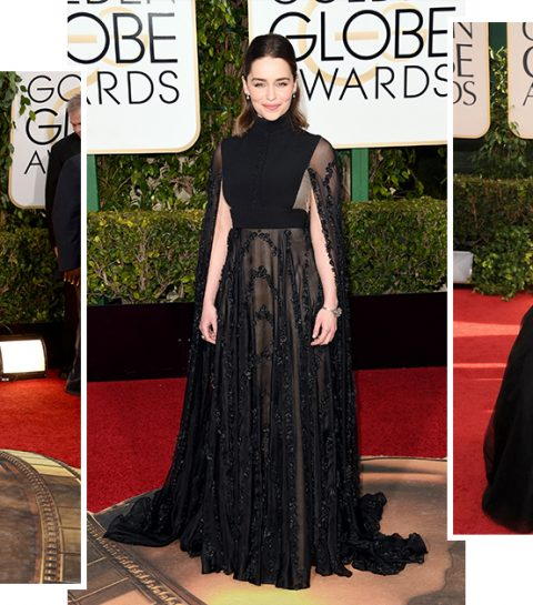 Daarom zullen zwarte jurken de rode loper domineren tijdens de Golden Globes 2018