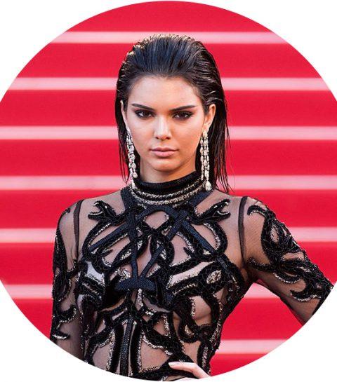Zelfs supermodellen als Kendall Jenner hebben last van acne