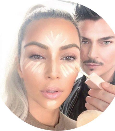 Eindelijk: Kim Kardashian en Mario gaan samen make-up maken