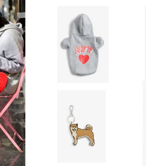 LOL: Monki lanceert een schattige hoodie….voor je hond