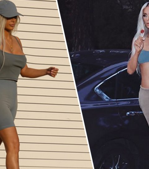 WOW: Paris Hilton transformeert tot Kim Kardashian