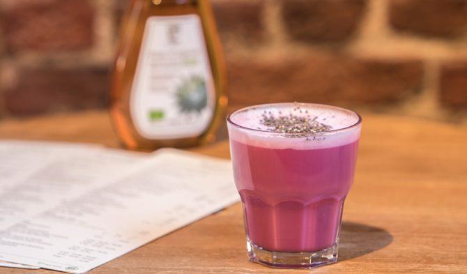 Drink pink: hier drink je de beste roze latte's - 2