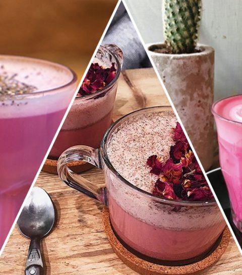 Drink pink: hier drink je de beste roze latte's