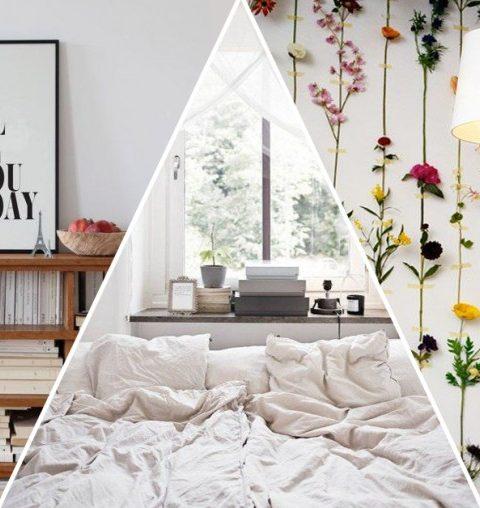 10 deco ideeën voor een romantische slaapkamer
