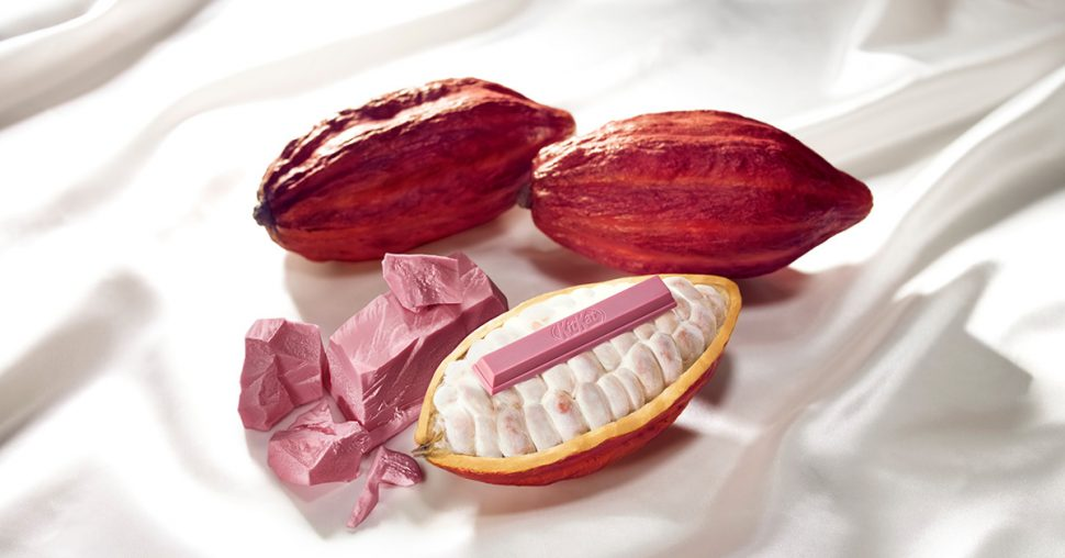 roze chocolade, roze, chocolade, barry-callebaut, snoep, kitkat, dessert, snack, lekkernij, chocoholic, pink latte, roze ananas