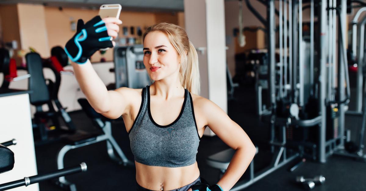 irritante fitnesstypes selfie