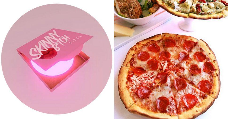 skinny bitch pizza bloemkool food