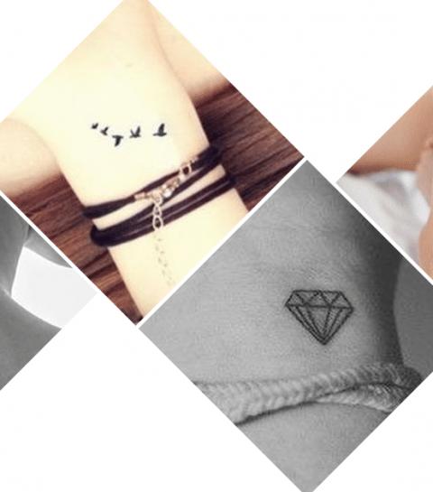 Pinspiration: 30 X de allerleukste mini-tatoeages