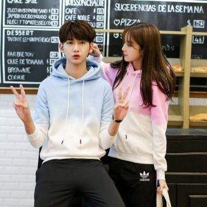 twinning fashion koppel matching outfit zuid korea