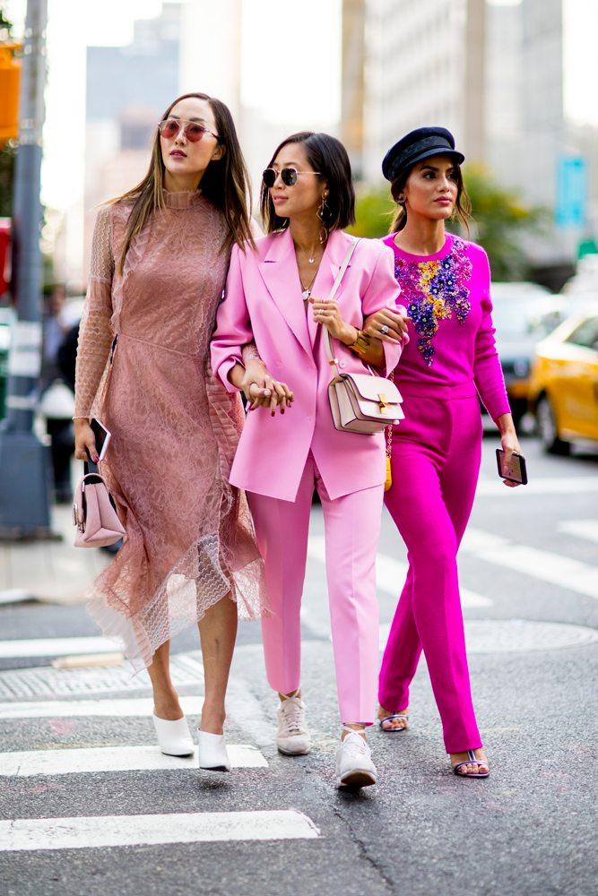 twinning fashion twin mode BFF streetstyle kapsel roze pink maatpak