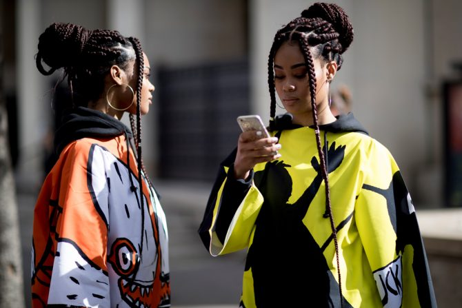 twinning fashion twin mode BFF streetstyle