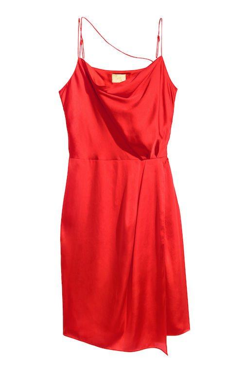 valentijn rode jurk hm