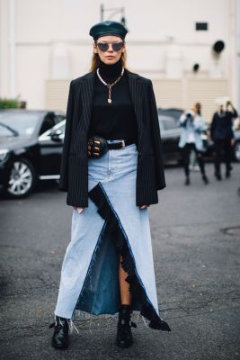 90's streetstyle 90s 90 nineties fashion week