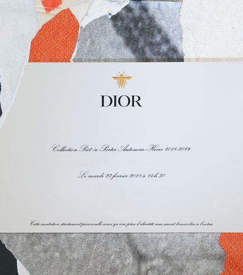 Volg hier live het defilé van Dior
