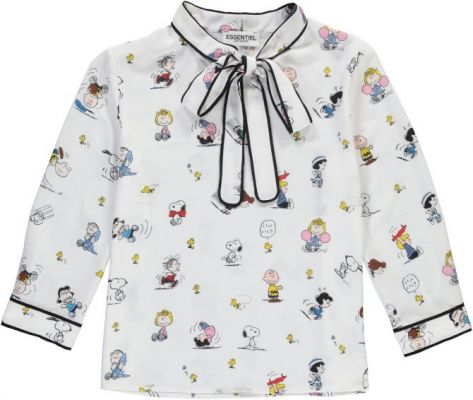 cartoon, collab, samenwerking, peanuts, snoopy, my little pony, essentiel, tezenis, levi's, 2018, collectie, lente, cartoon