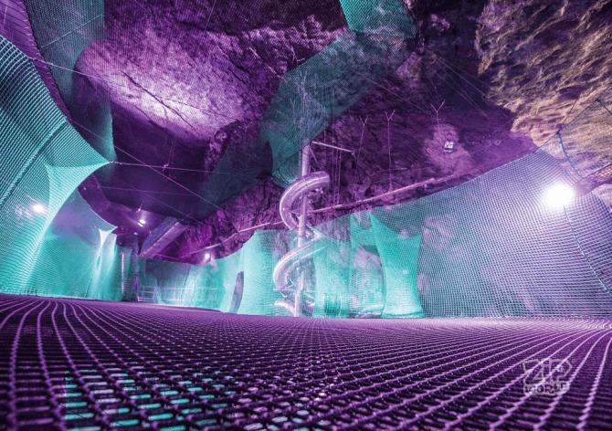 OMG: wij willen nu naar dit ondergrondse trampolineparadijs! - 3