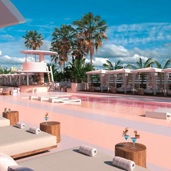 roze vakantie Ibiza