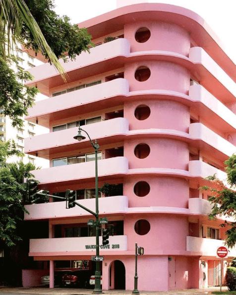 roze hotspots reizen