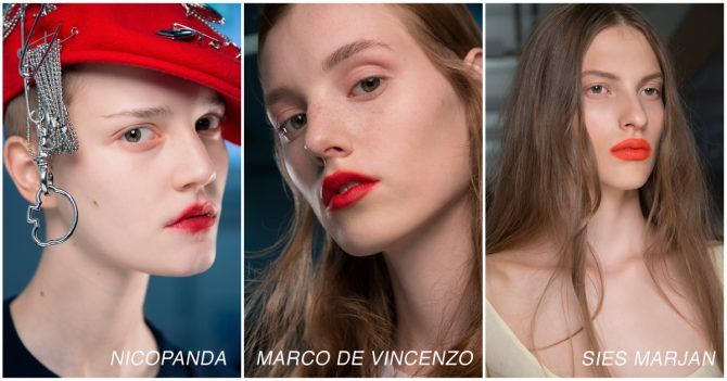 Make-up blunder spring summer 2018