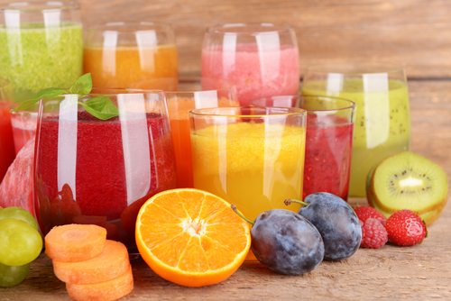 gezond, ongezond, eten, voedsel, dieet, slank, vermageren, healthy, fruitsap