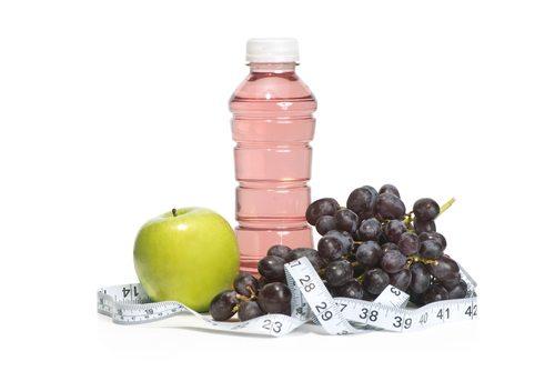 gezond, ongezond, eten, voedsel, dieet, slank, vermageren, healthy, vitaminewater