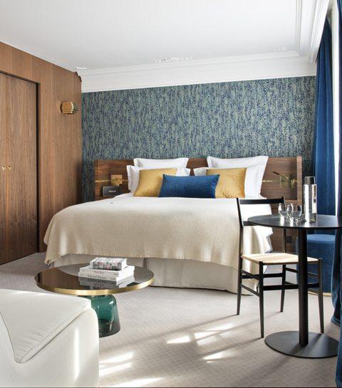 Hôtel Parister, een plaats waar je volledig tot rust komt na een dagje shoppen