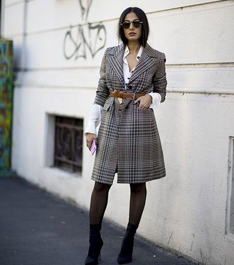 Streetstyle trend: de prince of Wales ruit