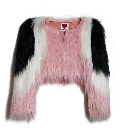 Weersta Siberische temperaturen in een heerlijk dikke faux fur-jas