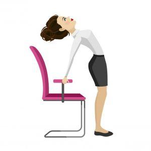 5 eenvoudige yoga-oefeningen die je op je bureaustoel kan uitvoeren - 4