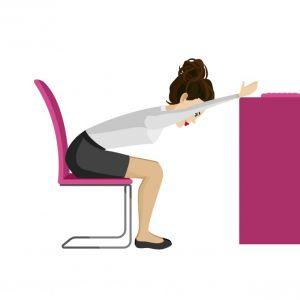 5 eenvoudige yoga-oefeningen die je op je bureaustoel kan uitvoeren - 5