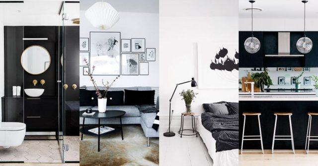 Pinspiration: 30 prachtige interieurideeën in ultrachic zwart-wit