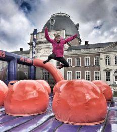 Doen: Belgie krijgt met de Air Games een reusachtige springkasteelrace